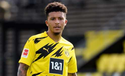 Lucien Favre Believes Jadon Sancho Will Remain With Borussia Dortmund