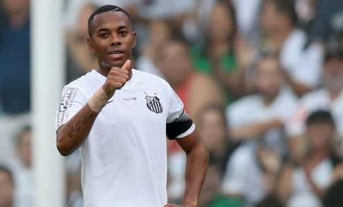 Robinho's Santos Contract Terminated After Less Than a Week