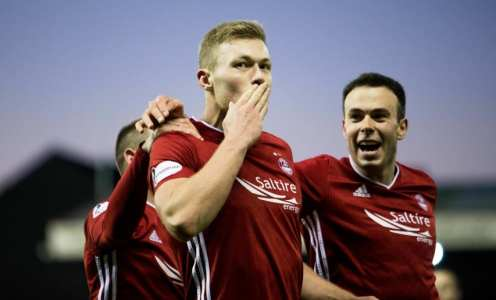 Newcastle Linked With Surprise Move for Aberdeen Striker Sam Cosgrove