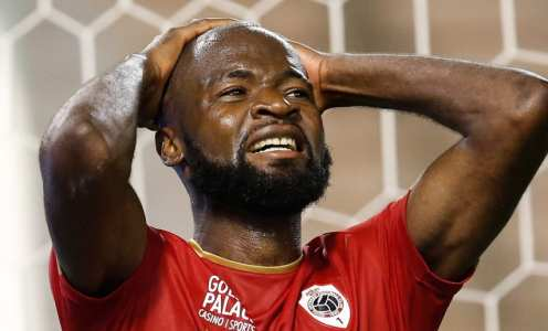 Antwerp striker Didier Lamkel Ze apologises after hilarious transfer stunt