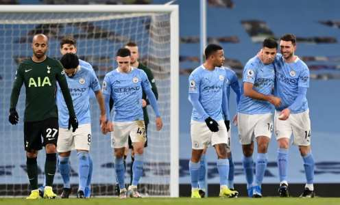 The Manchester City team that should start against Everton