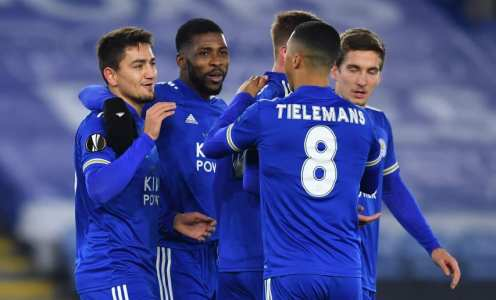 The Leicester team that should start against Slavia Prague in the Europa League