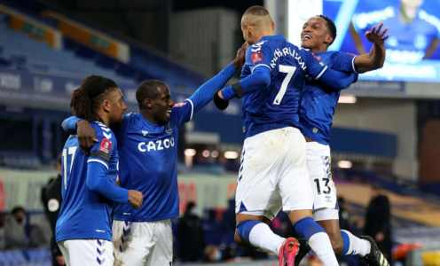The Everton lineup that should start against Liverpool in the Merseyside derby