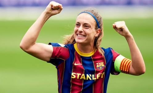 Alexia Putellas named 2020/21 UEFA Women's Player of the Year