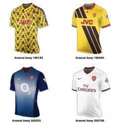 history of the arsenal kit soccer box blog