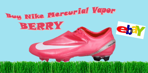 new arrival c93da 94c74 Sale Nike Mercurial Vapor Berry Still Available!