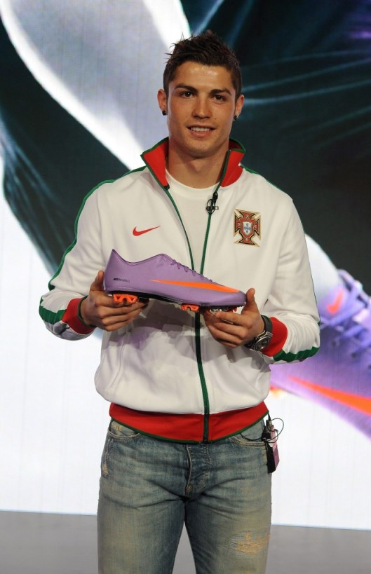 Ronaldo with Vapor Superfly II