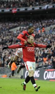 Wayne Rooney Celbrates