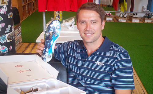 Michael Owen with Speciali Speciali's