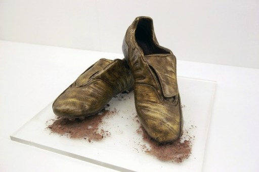 chocolate soccer boots