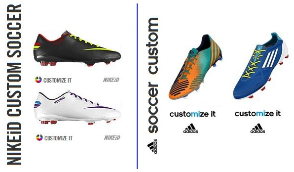 Mi Adidas vs Nike ID Which to choose Soccer Cleats 101