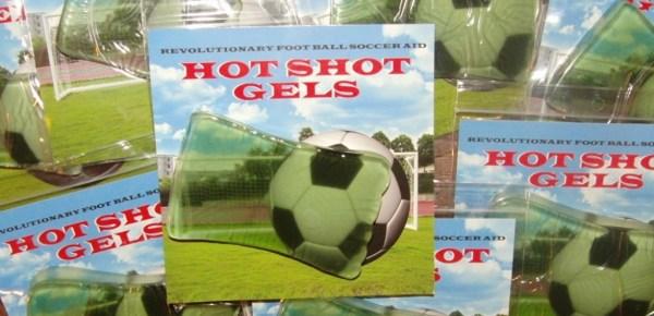 Soccer Hot Shot Gels