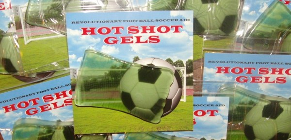 Soccer Hot Shot Gels