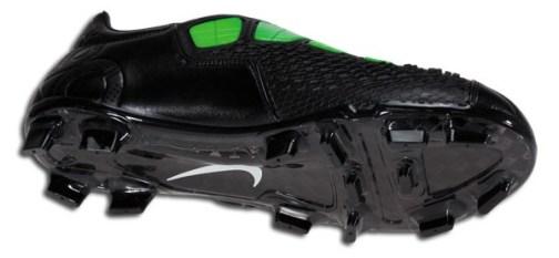 Black Nike T90 Laser III soleplate