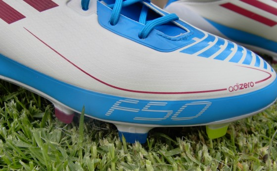 Adidas F50 adiZero Prime up close