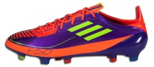 Purple adidas F50 adizero Prime