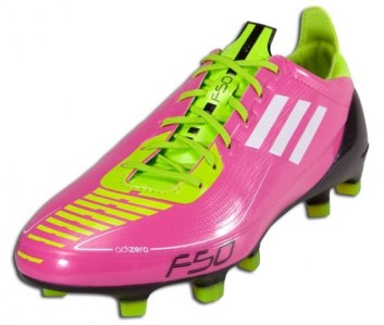 Adidas F50 adiZero Pink