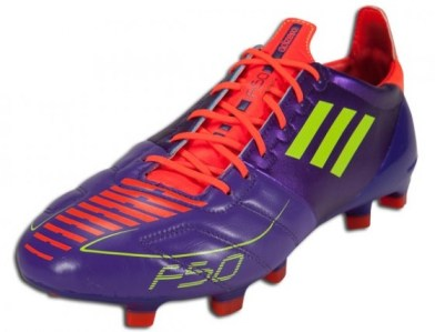 Leather adidas F50 adizero Anodized Purple