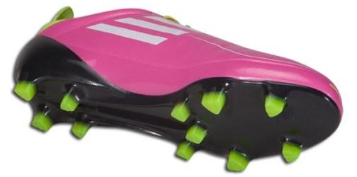 Pink Adidas f50 adiZero