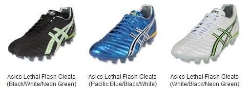 Asics Lethal Flash range