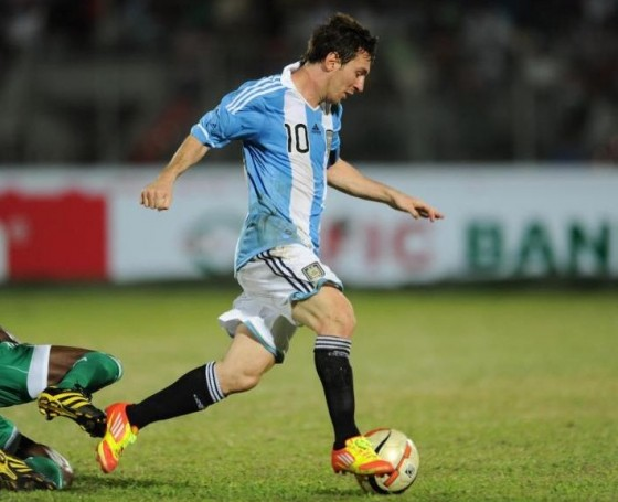 Messi in adiZero II
