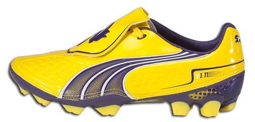 Puma V1.11 Yellow Purple