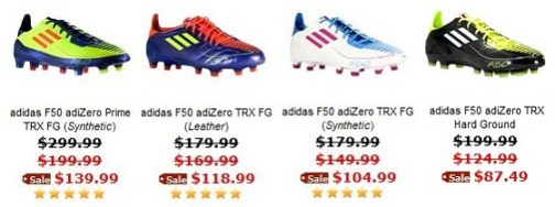 28ff0613c If you are a fan of the Adidas F50 adiZero line and are on the verge of  needing a new pair of boots