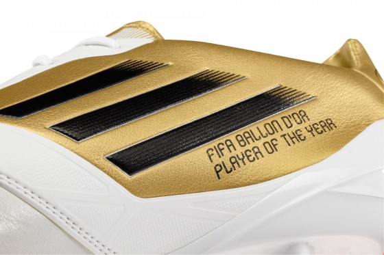 Gold adiZero Ballon d'Or