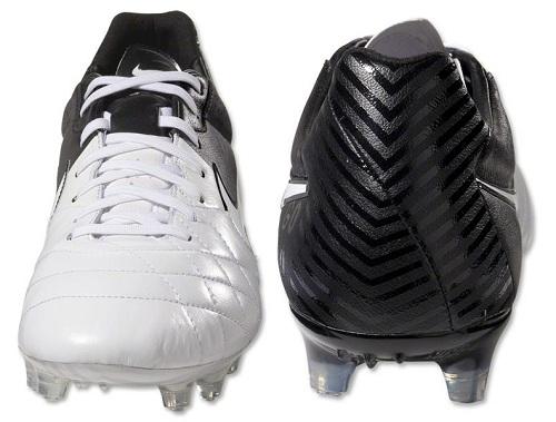 Black White Nike Tiempo