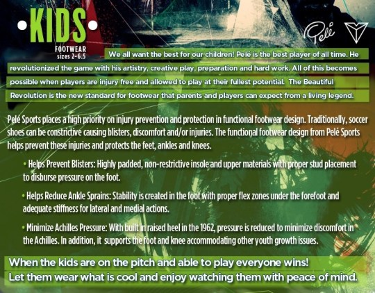 Pele Sports Kids