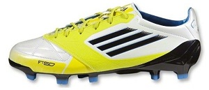 more photos d9f1f 2ea11 White Lime F50 adiZero   Soccer Cleats 101