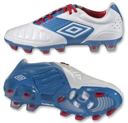 White Brilliant Blue Umbro Geometra Pro