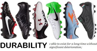 Durable Soccer Cleats