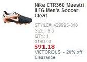 Nike Sale CTR