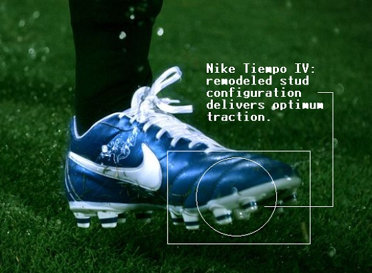 Nike Tiempo IV Soleplate