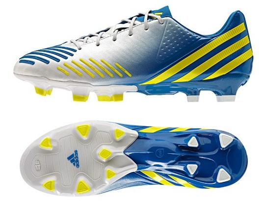 Adidas Predator LZ in White Blue