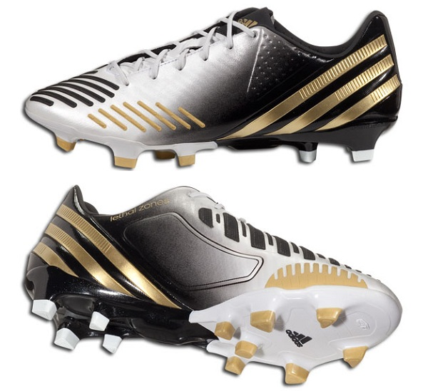 adidas pred lz in white gold