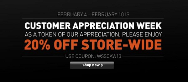 WSS Appreciation Sale 20
