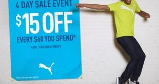 Puma 4-day Sale