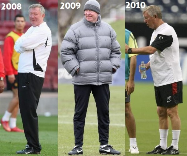 Sir Alex 2008 to 2010