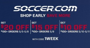 Soccer.com Sale
