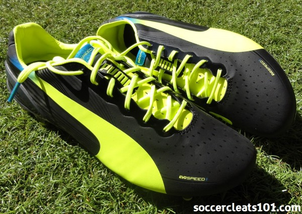 New Puma evoSPEED 1.2 Soccer Cleats