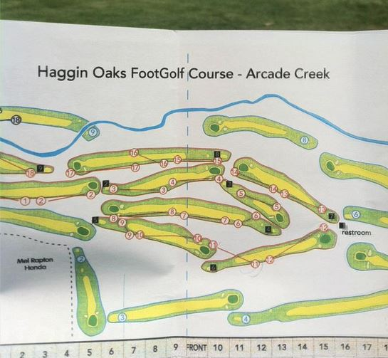Footgolf Haggin Oaks