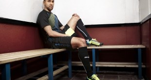 Gaël Clichy in the latest PUMA evoSPEED football boot