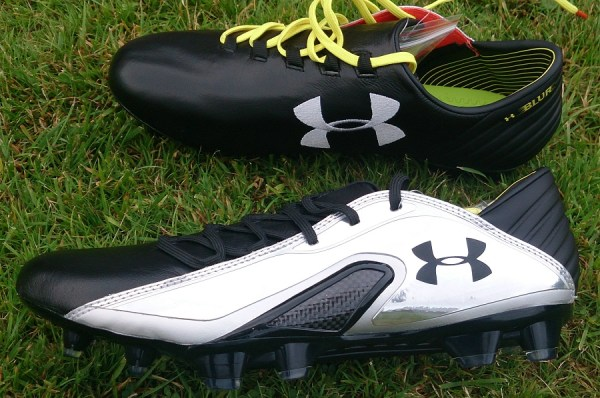Under Armour Spine Blur Carbon 3 Leather Side Profile