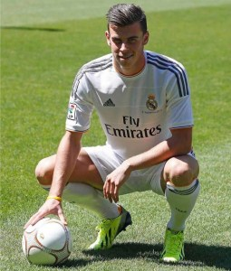 Bale Signs for Real Madrid