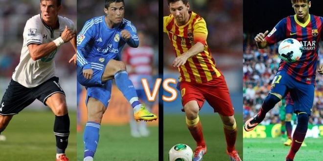 Brand Battle Bale Ronaldo Messi Neymar