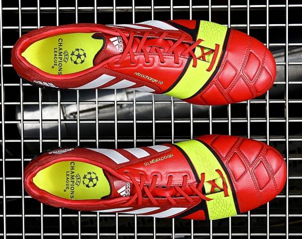Overhead image of Adidas Nitrocharge 1.0 Red