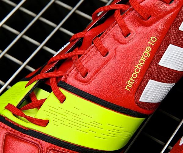 Red Adidas Nitrocharge 1.0 EnergySling