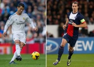 Ronaldo vs Ibra